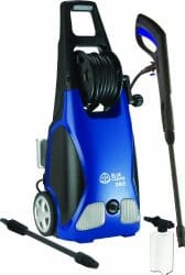 AR Blue Clean Electric Pressure Washer with Hose Reel (best weed wacker)