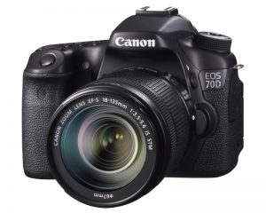 Canon EOS 70D Digital SLR Camera(Best Vlogging Camera)