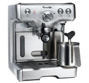 Breville 800ESXL 15-Bar Triple-Priming Die-Cast Espresso Machine