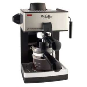 Mr. Coffee ECM160 4-Cup Steam Espresso Machine